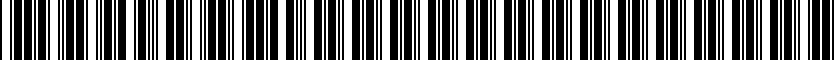 Barcode for 1190-76