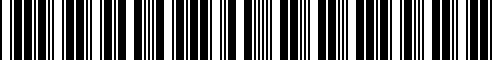 Barcode for AA69CW00080