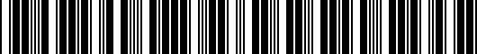 Barcode for DO64CP000501