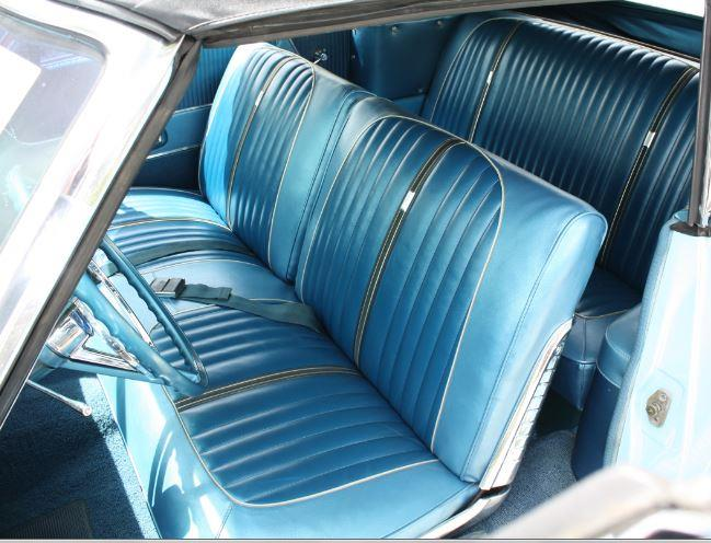 1964 Ford Seat Covers Set Front Bench And Rear