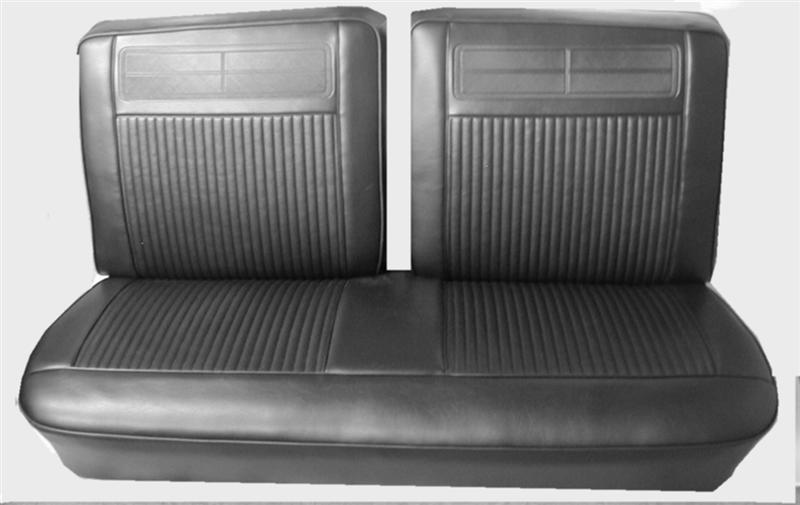 Chevy Bench Seat ~ Chevrolet nova seat covers door sedan front split
