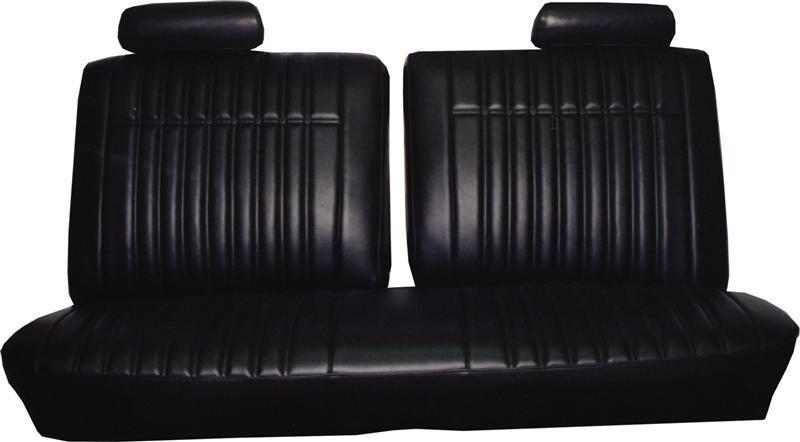 70pbsnb Pontiac Seat Cover Front Split Bench 1970
