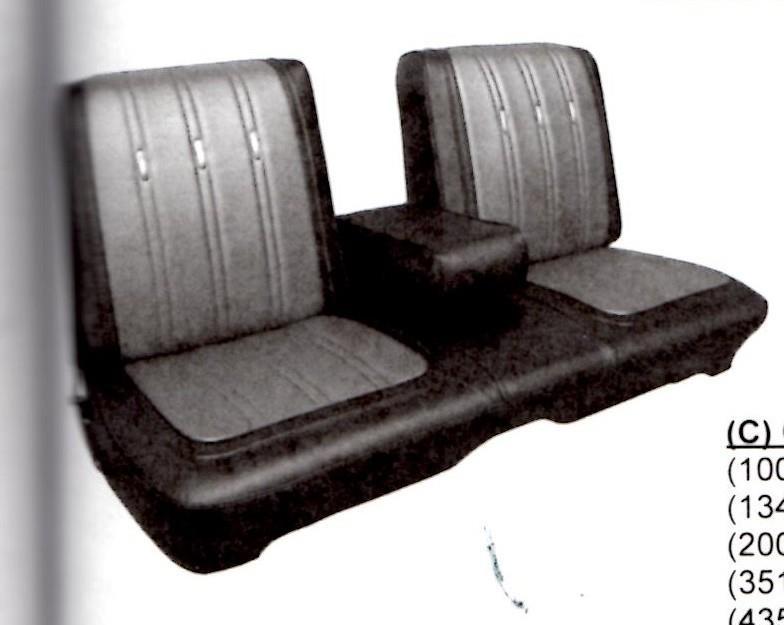 Split Bench Seat Cover