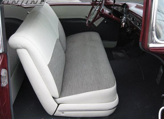 Ci55ba2dhtsc Ci Seat Covers Front And Rear 1955 Bel