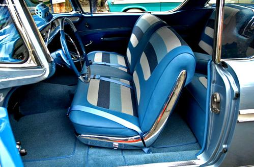 Ci58imp2dht Ci Seat Covers Front And Rear 1958 Impala
